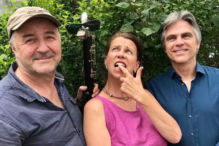 Mike Schweizer, Petra Gack und Florian Döling